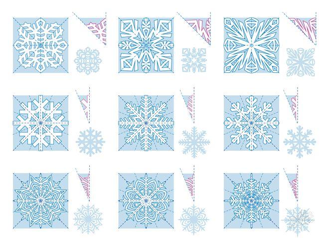 Як робити сніжинки