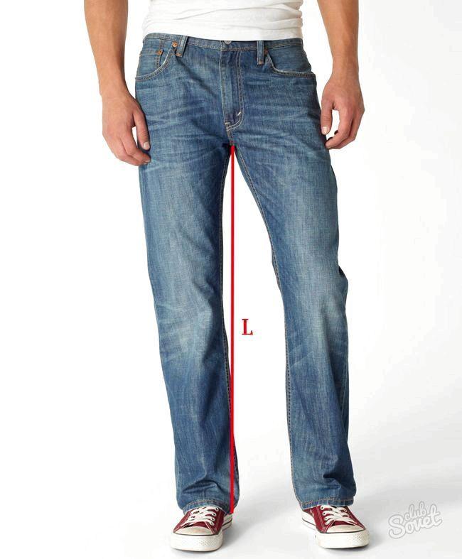 Як визначити розмір джинсів