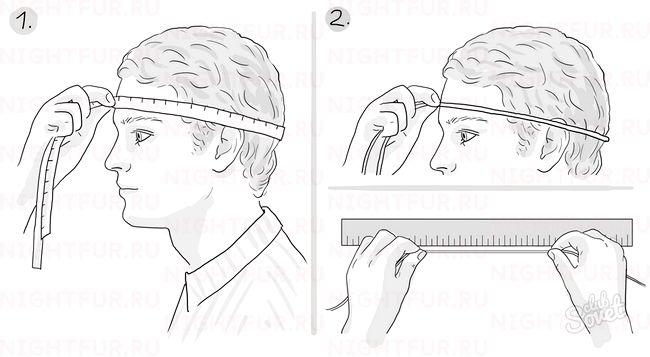 Як визначити розмір голови