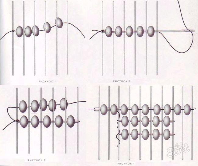 Як плести фенечки прямим плетінням