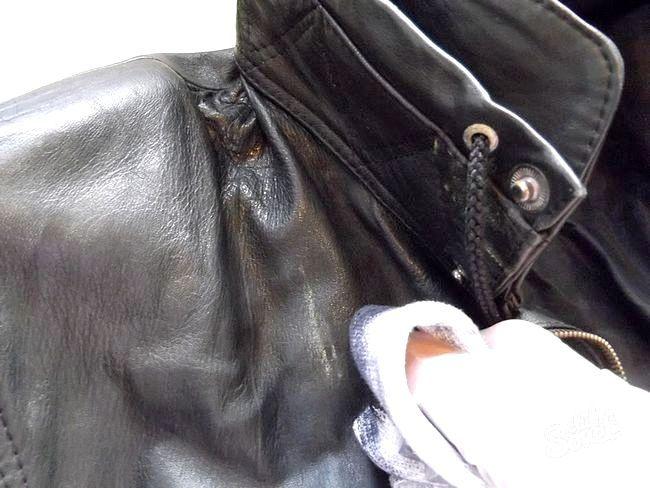 Як пофарбувати шкіряну куртку