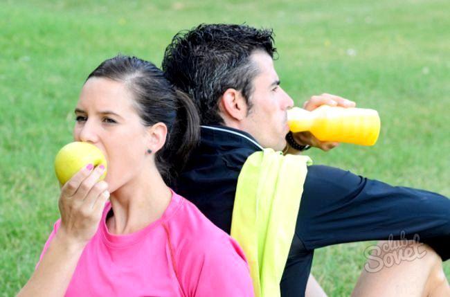 Як правильно харчуватися після тренування