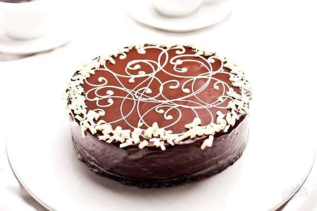 Як приготувати шоколадний торт