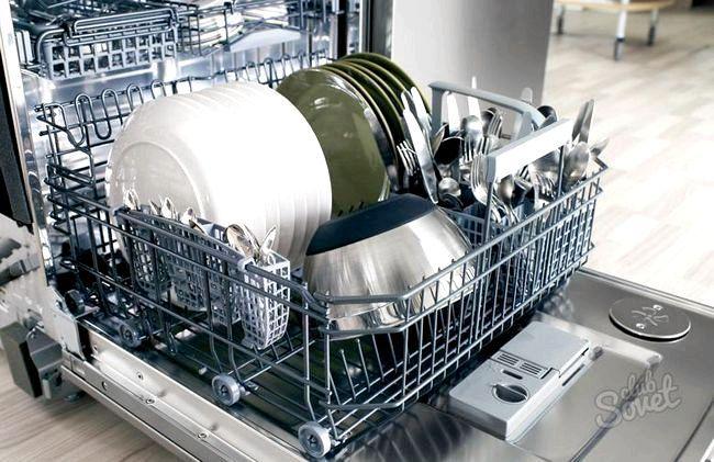 Як працює Посудомийні машини