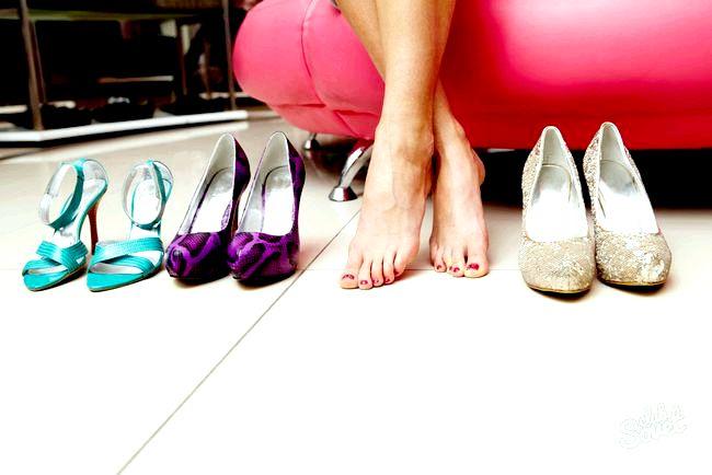 Як розносити тісне взуття