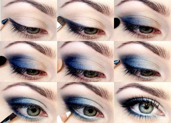 Як малювати стрілки на очах