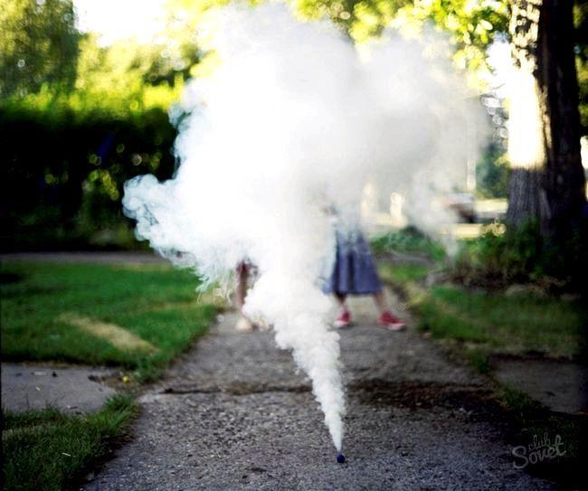 Як зробити димовуху