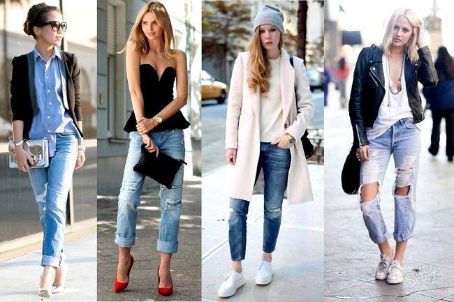 Як зробити потертості на джинсах