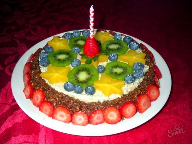 Як зробити прикраса для торта