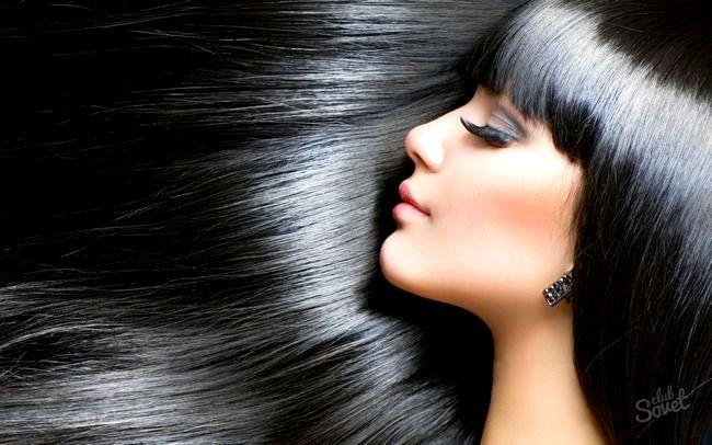 Як змити чорну фарбу з волосся