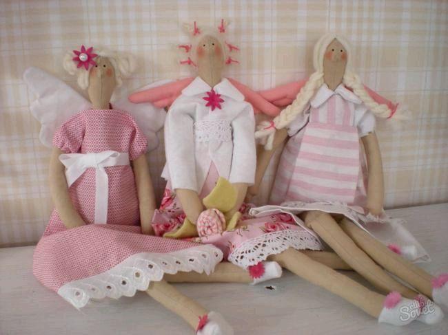 Як зшити ляльку своїми руками