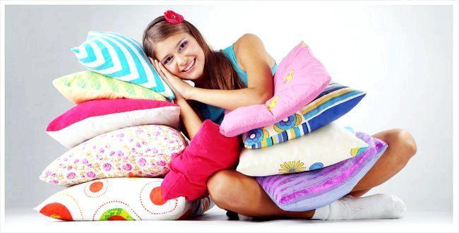 Як зшити подушку