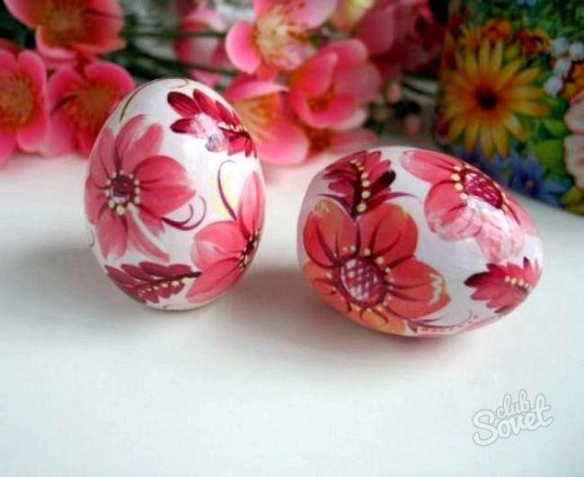 Як прикрасити яйця на пасху