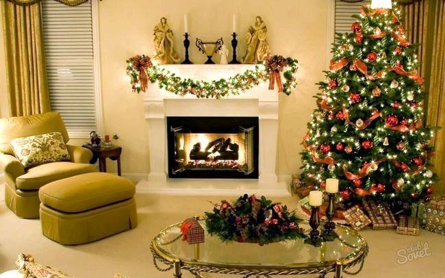 Як прикрасити до нового року будинок