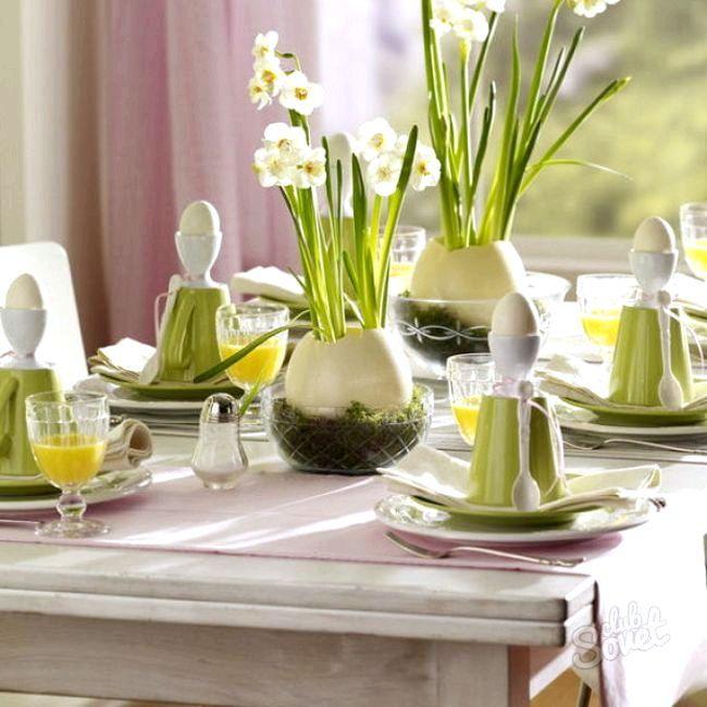 Як прикрасити пасхальний стіл