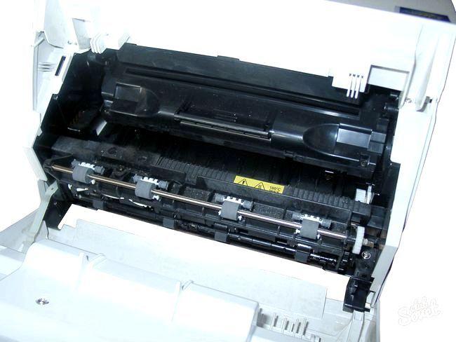 Як Вставити картридж в принтер