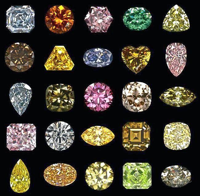 Кольорові діаманти