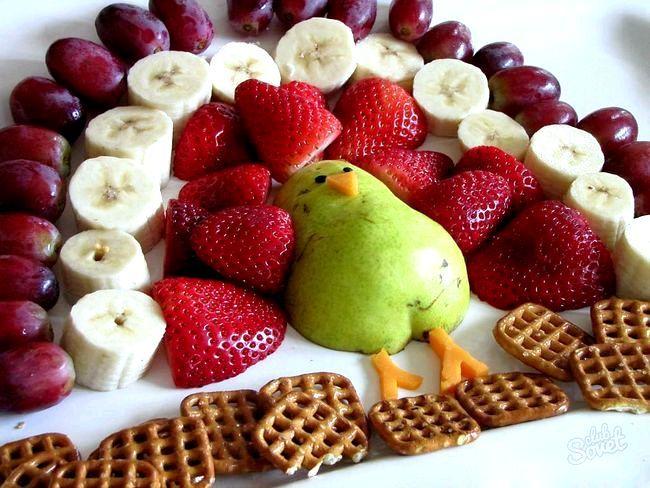 Як викласти красиво фрукти