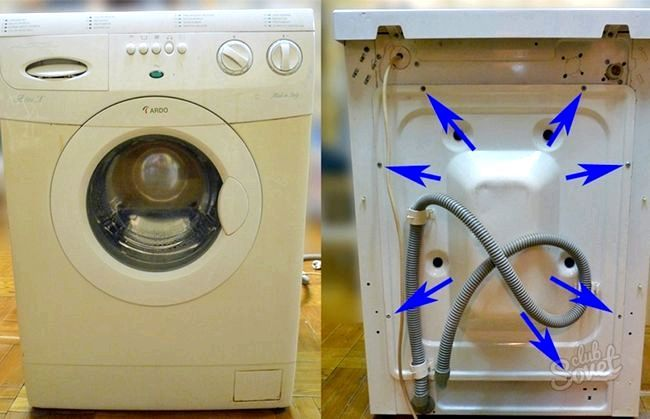 Як замініті підшипник на пральній машині