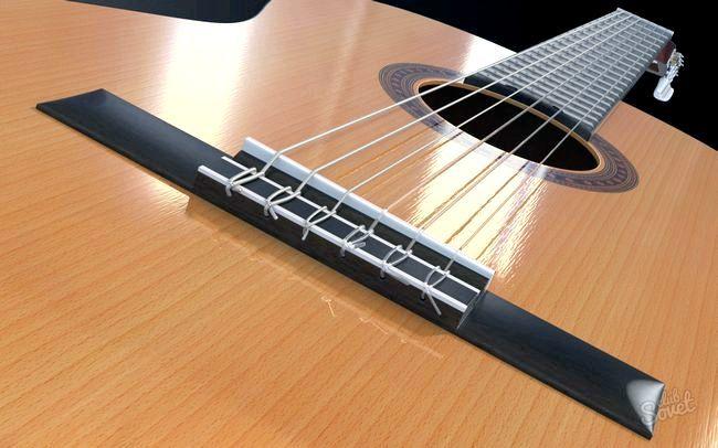 Як замінити струну на гітарі