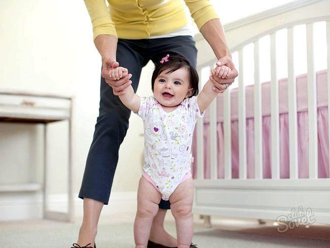 Коли дитина починає ходити