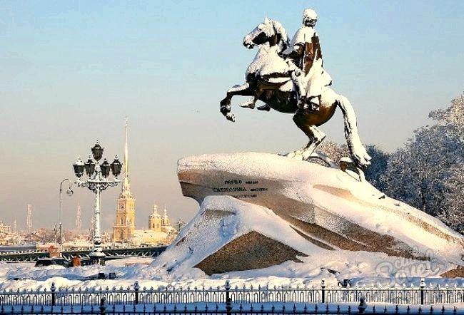 Куди сходити в Санкт-Петербурзі взимку