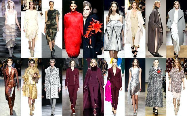 Мода осінь-зима 2014-2015, фото