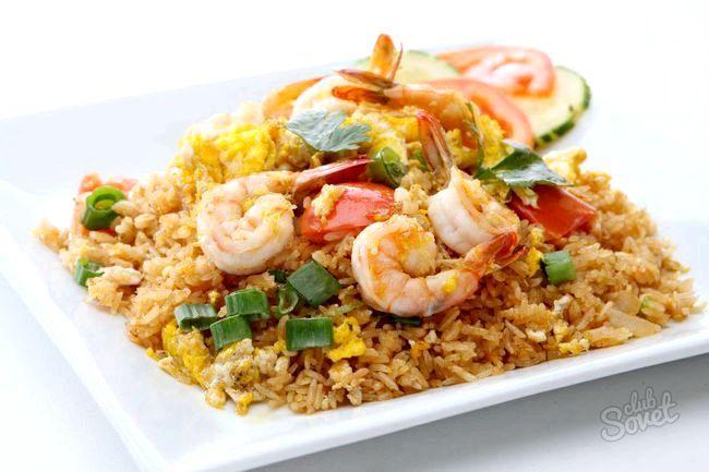 Рис з морепродуктами
