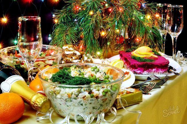 Новорічний-стіл