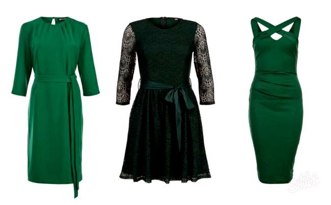 Плаття зелені