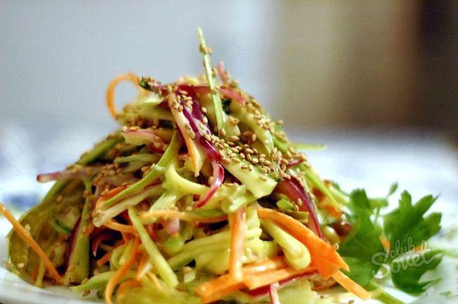 Селера для схуднення: рецепти салатів