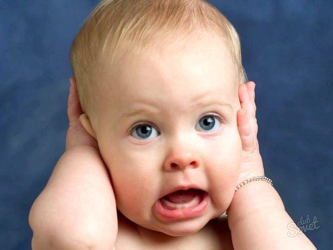 У дитини болить вухо, що робити