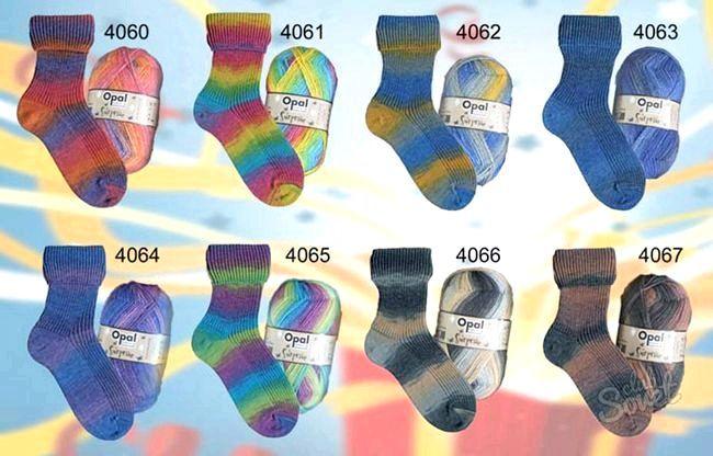 В'язання шкарпеток на 5 спицях